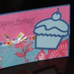 Happy Birthday Card Using Scraps!