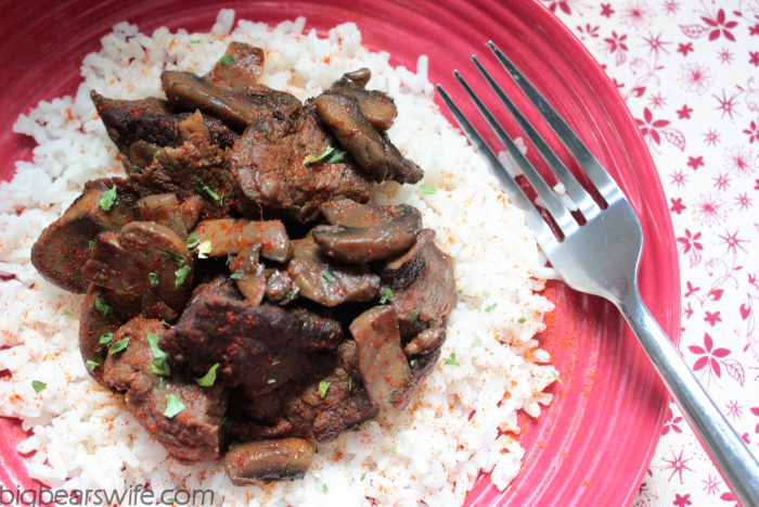 Paprika Steak and Rice