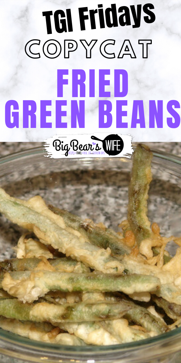Fried Green Beans - Have you ever tried to fry green beans? These Fried Green Beans are inspired by an appetizer we use to get at TGI Fridays years ago and so good!