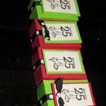 Small Christmas Treat Boxes
