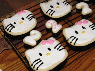 Hello Kitty Cookies!!!