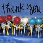 Troop Thank You Cake Pops