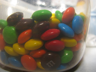 M&M Candies in a bowl