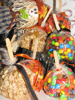 Caramel Dipped Apples