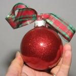 Glitter Christmas Ornament