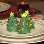 Christmas Tree Cake Bites