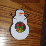 Snowman Sweet Treat Cups