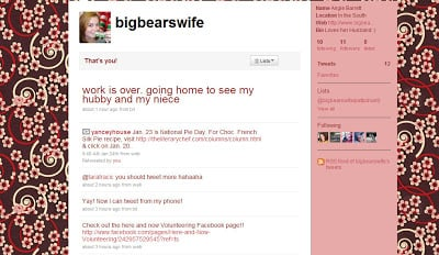 Twitter for Bigbearswife