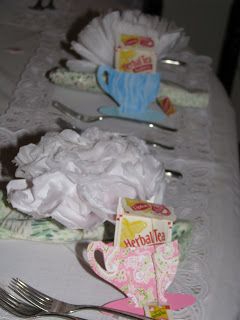 Tea Party for an 85th Birthday