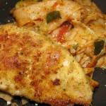 Cheesy Chicken Parmesan With Zucchini Pasta