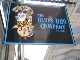 Blues BBQ Company Sign