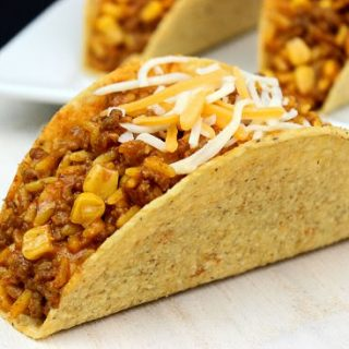 Rice and Corn Tacos