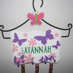 Girl Hair Clip and Bow Holder