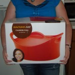 Chicken Noodle Casserole with Rachael Ray in Orange