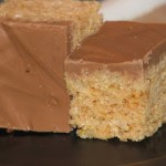 Chocolate and Peanutbutter Rice Krispie Treats