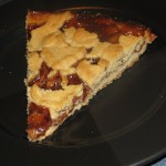 Peanut Butter and Jelly Shortbread Pie