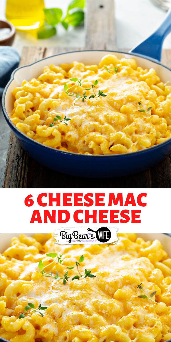 This 6 Cheese Mac and cheese recipe is the he Ultimate Lady's Cheesy Mac and Cheese from Mrs. Paula Deen! I made it for the first Thanksgiving we had after we moved back to Virginia and it was a hit!