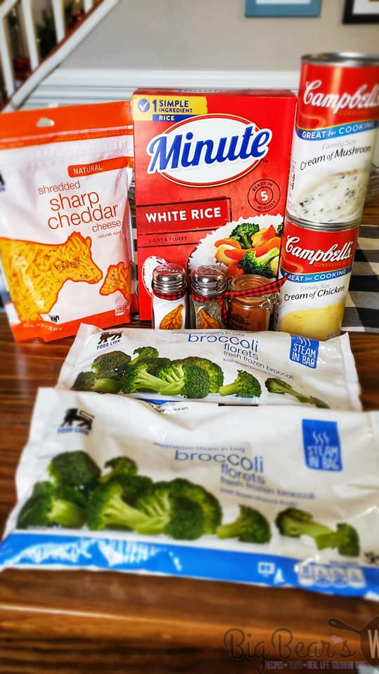 What you need to make Ma's Broccoli Casserole