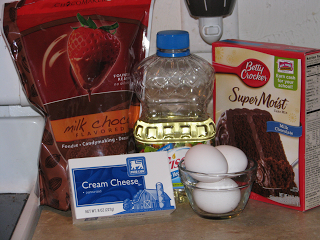Ingredients for make Cake Truffles
