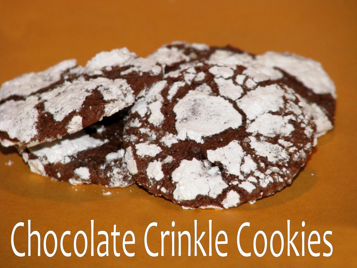 Chocolate Crinkle Cookies - Big Bear's Wife