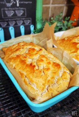 4 Ingredient Homemade Beer Bread