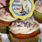 Hannah Montana Cupcakes