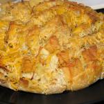 Cheesy Rosemary Garlic Loaf