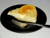 White Chocolate Orange Cheesecake