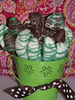 Chocolate Fresh Fruit Bouquet