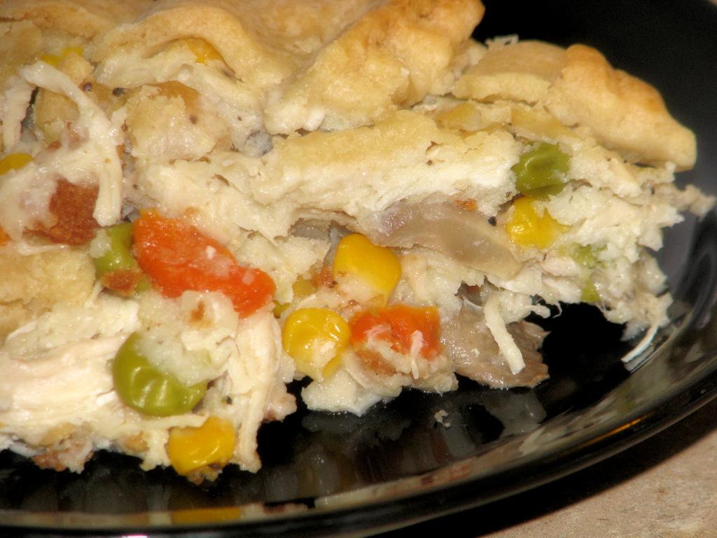 vegetable pot pie summer chicken pot pie galette with herbed crust ...