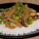 Beef and Snap Pea Stir-Fry