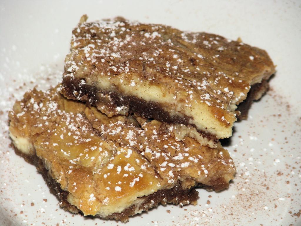 Cream Cheese Swirl Brownie Dessert