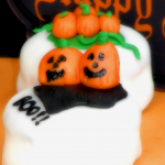 Halloween Petit Fours and Homemade Marshmallow Fondant