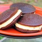 Chocolate Pumpkin Cake Pies