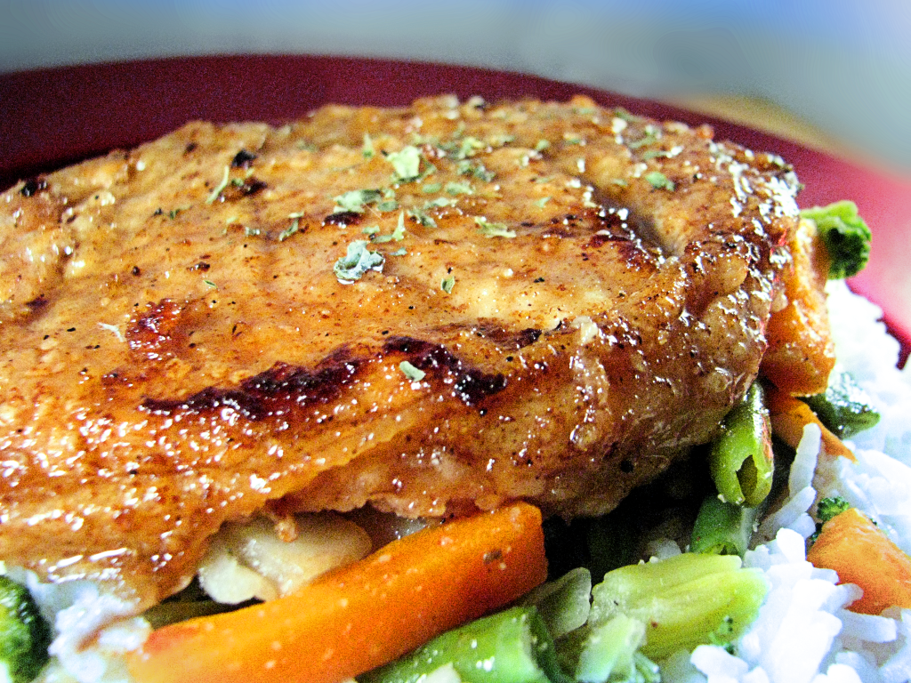 Pork Chops with Maple-Ginger Pan Sauce