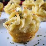 Roasted Mashed Potato Swirls