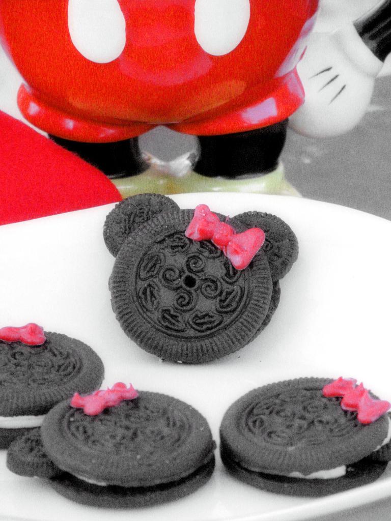 Minnie Mouse Oreo Cookies Big Bear S Wife