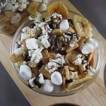 Banana S'more Popcorn Trail Mix