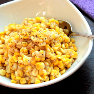 Homemade Skillet Creamed Corn