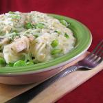 $3.00 Dinner – Edamame Parmesan Chicken Pasta