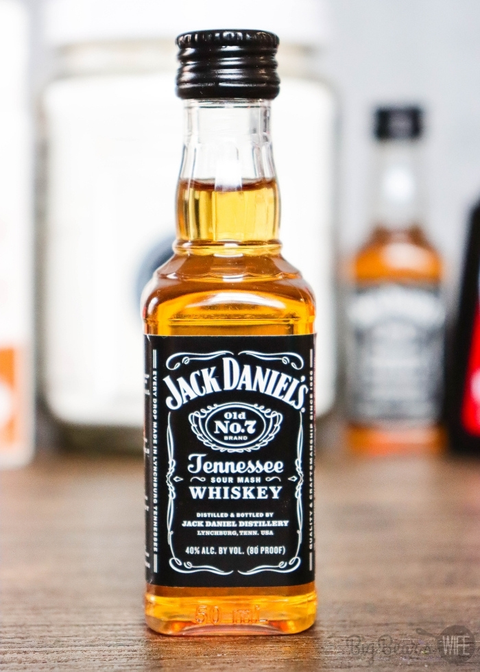 Airplane Bottle of Jack Daniels