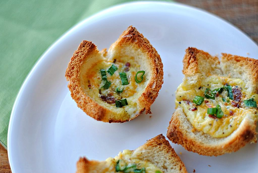 Mini Bacon and Egg Tarts — From Kelly at Eat Yourself Skinny