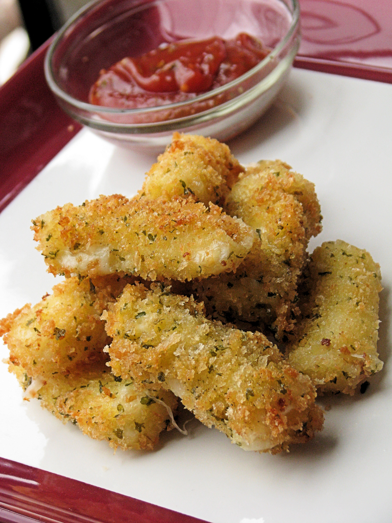 Panko Mozzarella Sticks