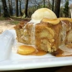 'Ohana Pineapple Banana Bread Pudding with Banana Caramel Sauce {Copycat Recipe}