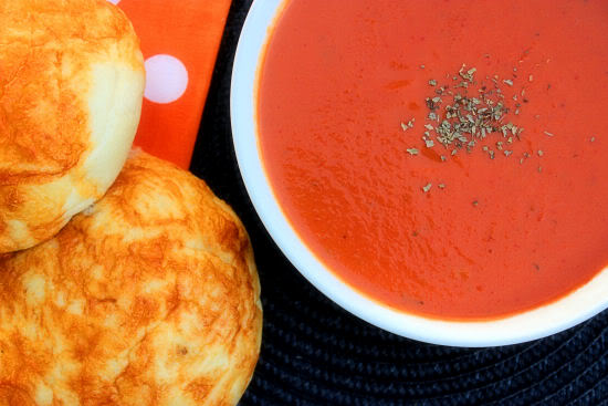 French Tomato Pumpkin Soup #FoodiePenPals Box