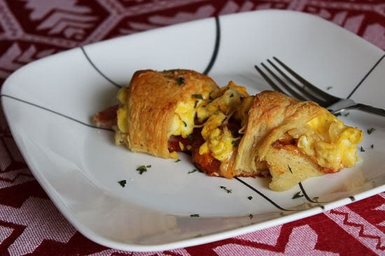 Bacon, Egg and Cheese Ring