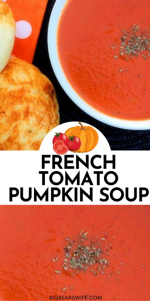 FRENCH TOMATO PUMPKIN SOUP