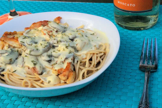 Dijon Chicken Spaghetti