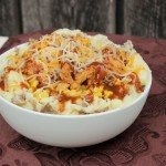 Chicken Mashed Potato Bowl