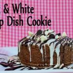 Black & White Deep Dish Cookies